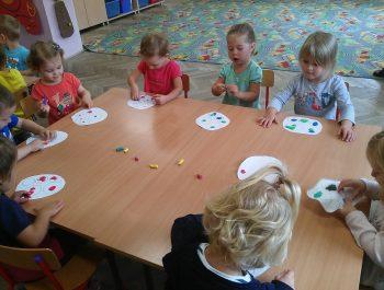 Pierwsze dni w przedszkolu- Grupa Zajączki