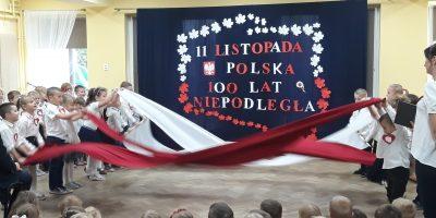 Inscenizacja z okazji Święta Niepodległości