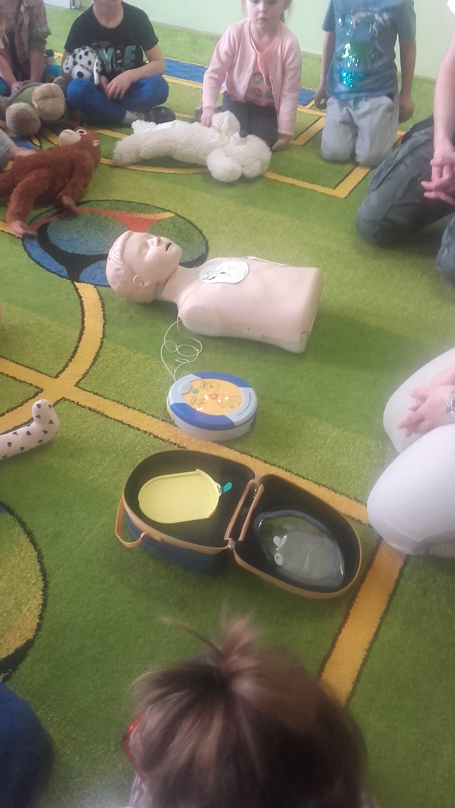 Warsztaty z pierwszej pomocy w gr. SMERFY