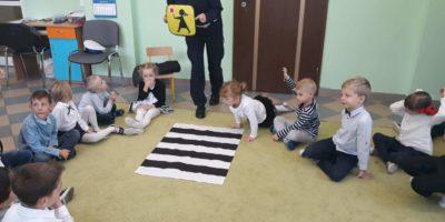 Wizyta policjantek w naszym przedszkolu.