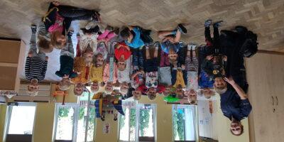 Wizyta policjantki i logopedy w Słoneczkach