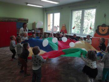 Zabawy integracyjne w grupie Słowiki