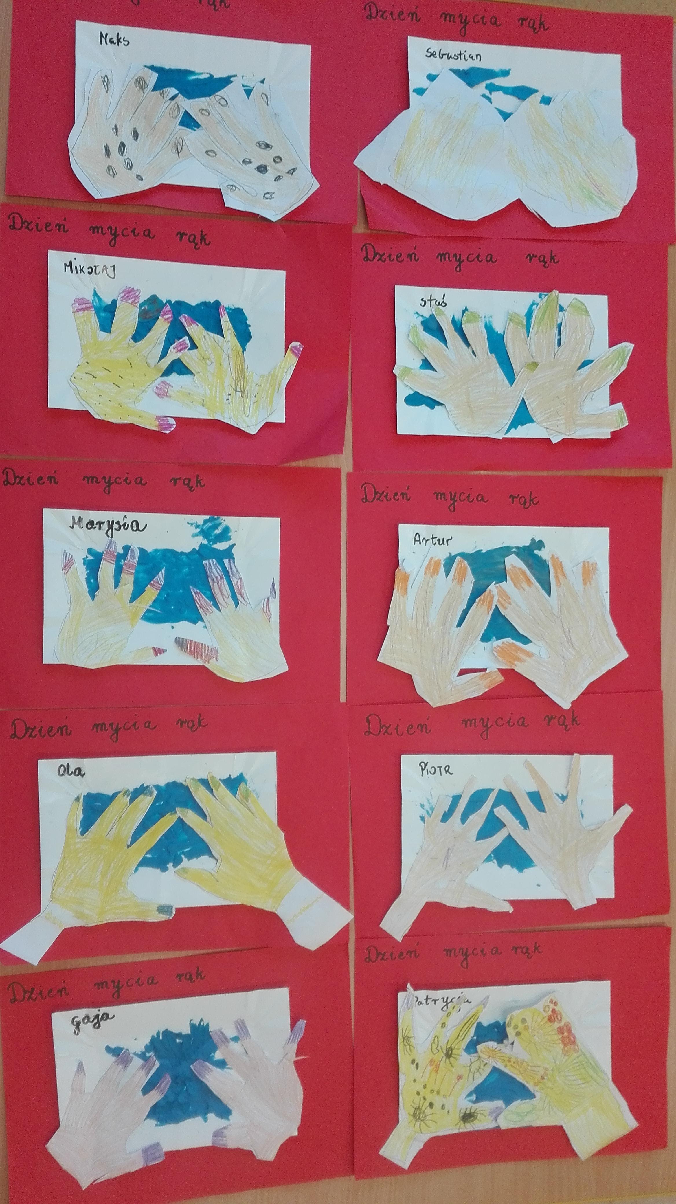 Światowy Dzień Mycia Rąk – Jeżyki, Tygryski