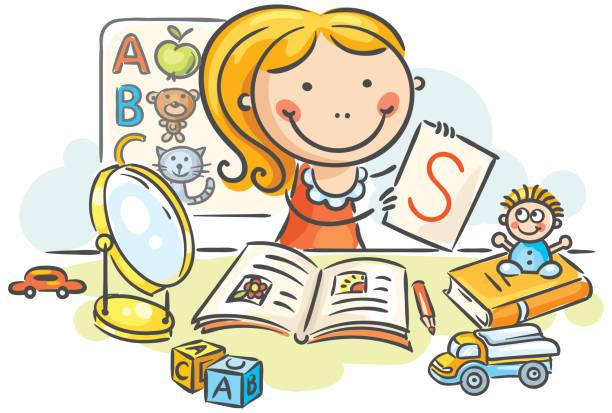 Zajęcia logopedyczne dzieci czteroletnich w siedzibie na Kościuszki