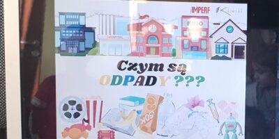 Prelekcje o odpadach w placówce przy ul.Ks.Marmo