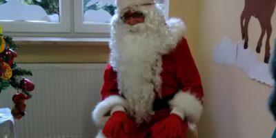 Witamy Świętego Mikołaja!   – siedziba przy ul.Ks.Marmo