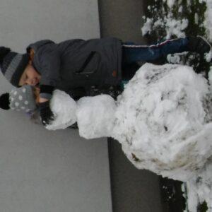 Zimowe zabawy- siedziba Kościuszki