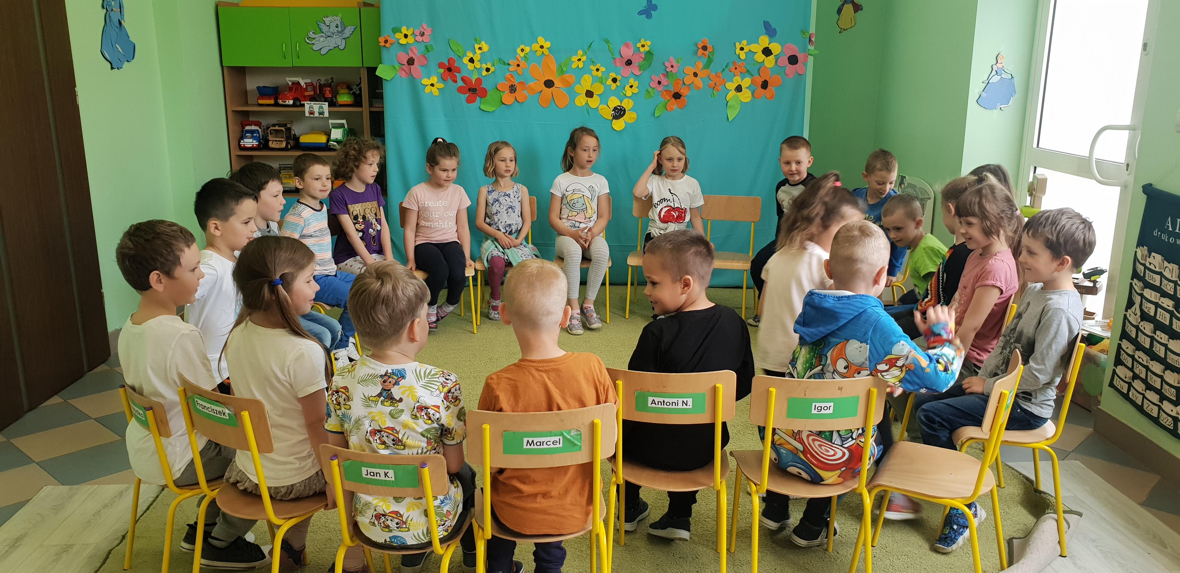 Dzień Dziecka w grupie Jeżyki