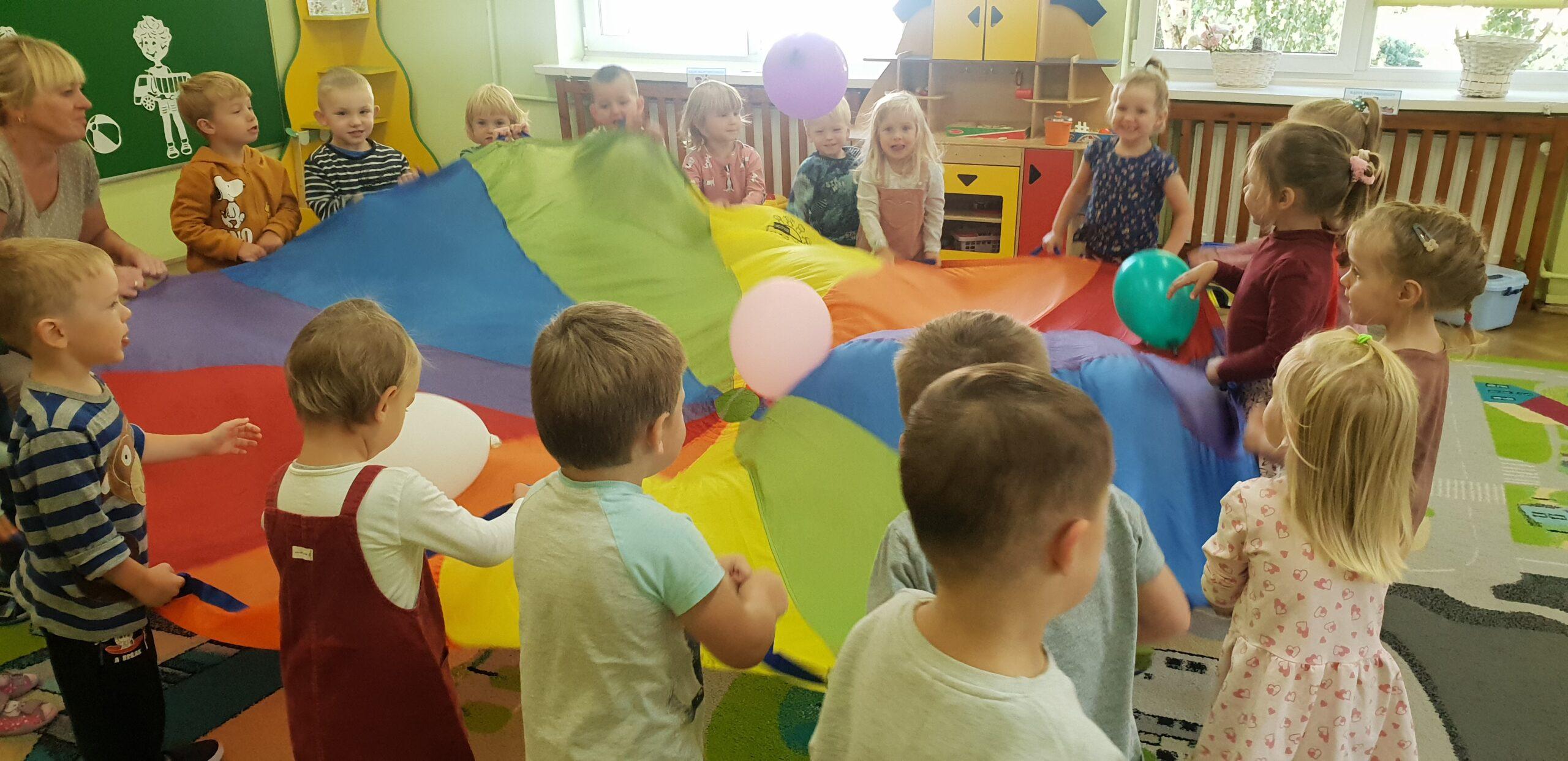 Pierwsze dni w Przedszkolu-Jeżyki