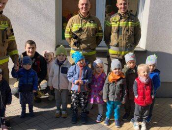 Próbna ewakuacja-siedziba Kościuszki